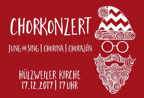 Konzert am 3. Advent (17.12., 17 Uhr, Hülzweiler Kirche)