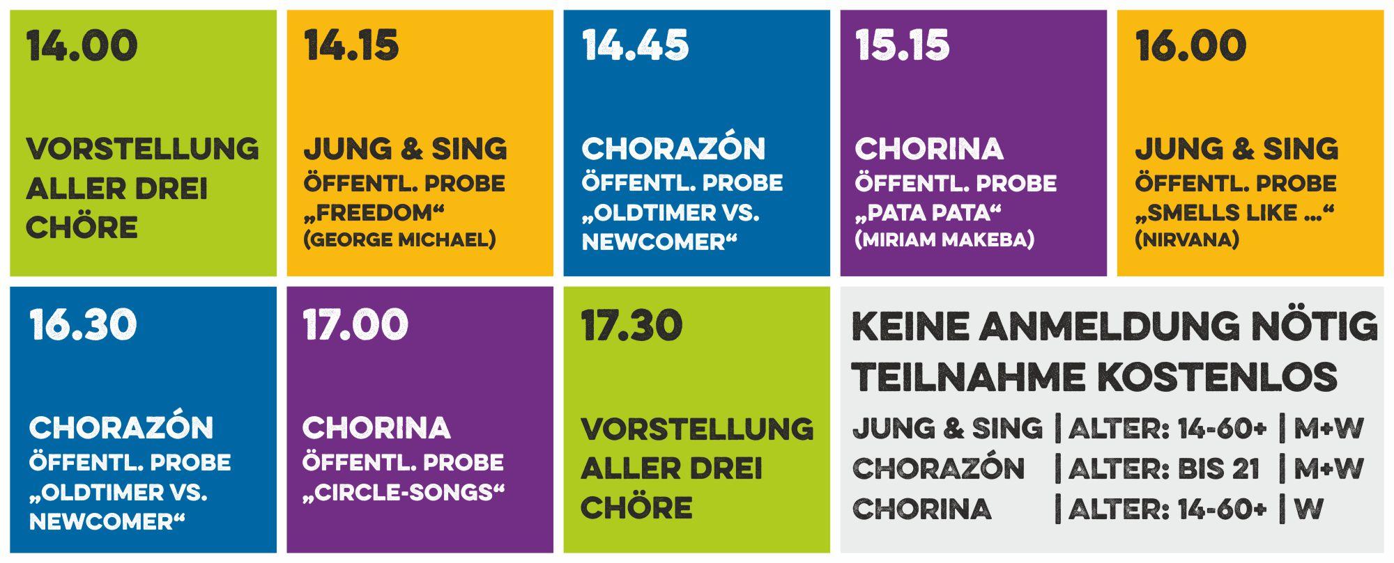 Öffentliche Proben beim Chor-Werk Hülzweiler
