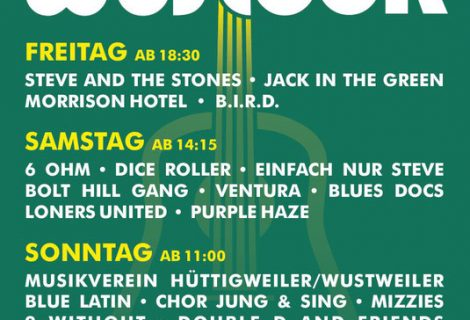 Jung & Sing am 01.09.19 beim Wostock-Festival