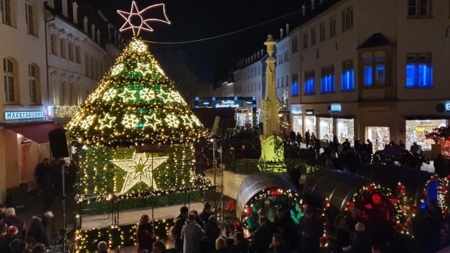 01.12.19: Jung & Sing auf dem Saarbrücker Christkindl-Markt
