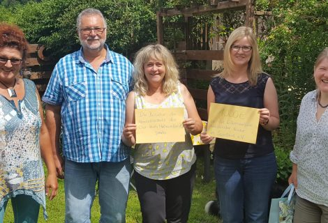 Spendenübergabe an Elterninitiative krebkranker Kinder im Saarland